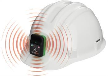 Trend TraceTag Hardhat with alarm copy